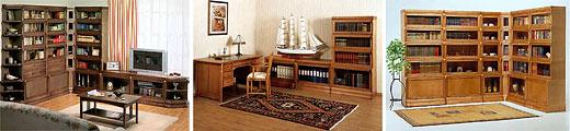 BILLNAS — мебель для домашних кабинетов и библиотек